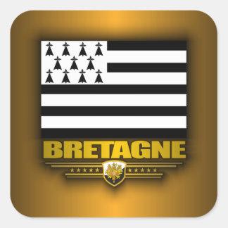 Bretagne (Brittany) Square Sticker