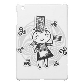 Breton girl iPad mini cover