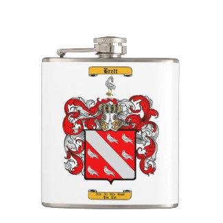Brett (Irish) Hip Flask
