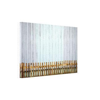 Bretterwand Canvas Print