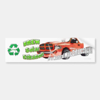 Brew Solar Ethanol Sticker Bumper Sticker