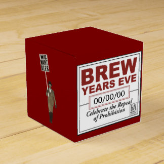 Brew Year's Eve Favour Box