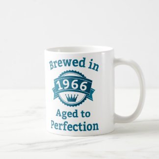 Brewed in 1966 Aged to Perfection Coffee Mug