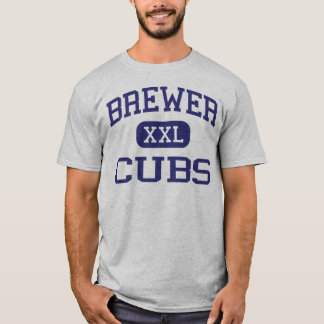 Brewer Cubs Middle School Fort Worth Texas T-Shirt