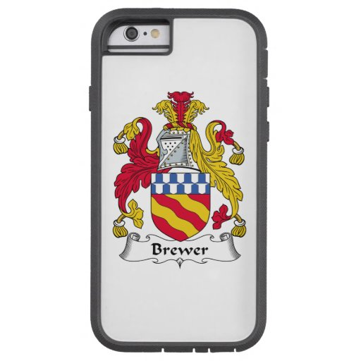 Brewer Family Crest iPhone 6 Case