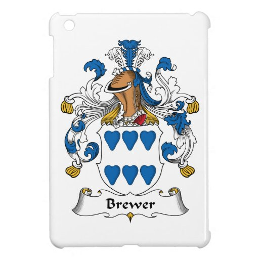 Brewer Family Crest Cover For The iPad Mini