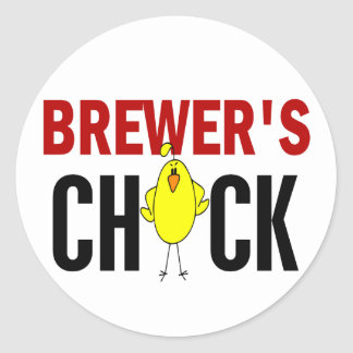 BREWER'S CHICK STICKERS