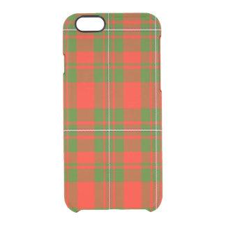 Brewer Scottish Tartan Clear iPhone 6/6S Case