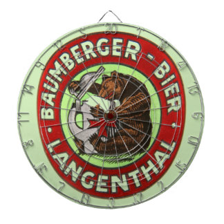 Brewerie Baumberger Langenthal, Switzerland Dartboard
