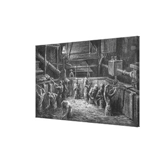 Brewers at Work Canvas Prints