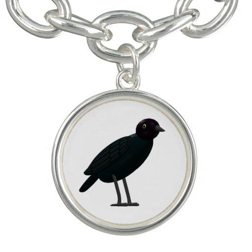 Brewers Blackbird Charm Bracelet