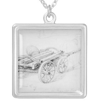 Brewer's Dray in Francis Street, 1833 Pendant