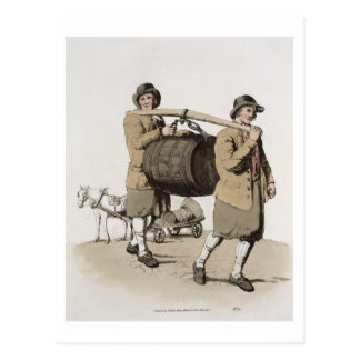 Brewers, from 'Costume of Great Britain' published Postcard