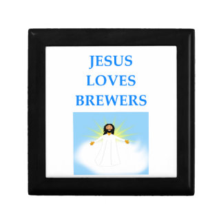 BREWERS SMALL SQUARE GIFT BOX