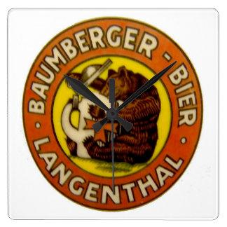 Brewery Baumberger Langenthal Clocks