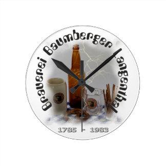 Brewery Baumberger Langenthal Wallclocks