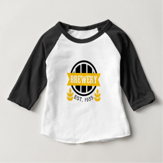 Brewery Logo Design Template Baby T-Shirt