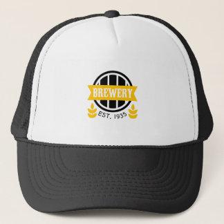 Brewery Logo Design Template Trucker Hat