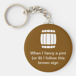 Brewing Museum Keychain