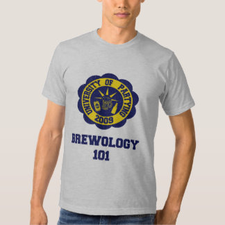 Brewology 101 tee shirt