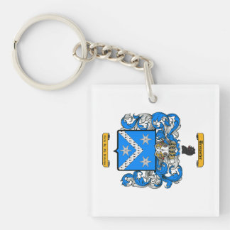 Brewster Double-Sided Square Acrylic Key Ring