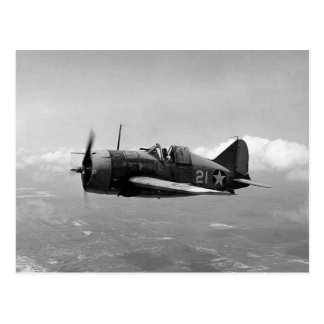 Brewster F2A Buffalo Postcard