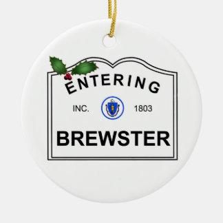 Brewster MA Ceramic Ornament