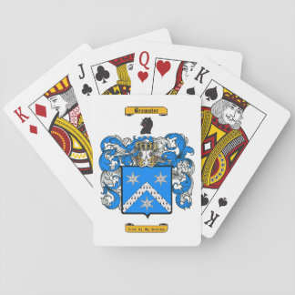 Brewster Playing Cards