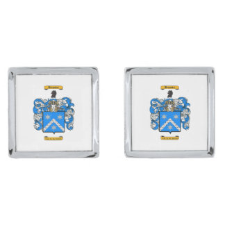 Brewster Silver Finish Cufflinks