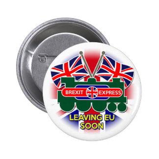 Brexit 6 Cm Round Badge