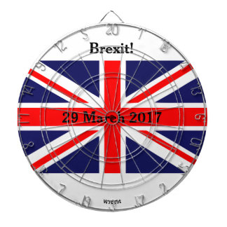Brexit British Dartboard