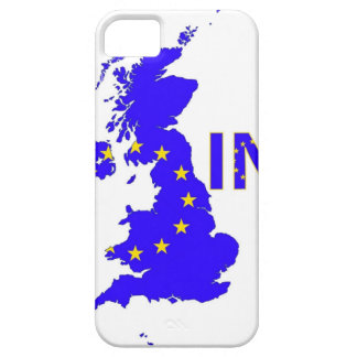 """BREXIT """"IN"""" UNION JACK CASE FOR THE iPhone 5"""