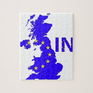 """BREXIT """"IN"""" UNION JACK JIGSAW PUZZLE"""