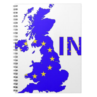 "BREXIT ""IN"" UNION JACK NOTEBOOK"