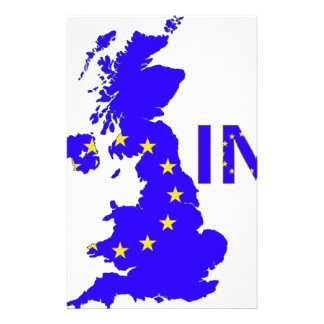 """BREXIT """"IN"""" UNION JACK STATIONERY"""