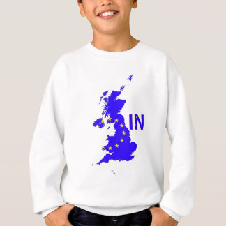 "BREXIT ""IN"" UNION JACK SWEATSHIRT"