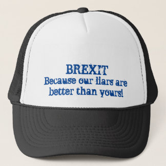 Brexit Lies Trucker Hat