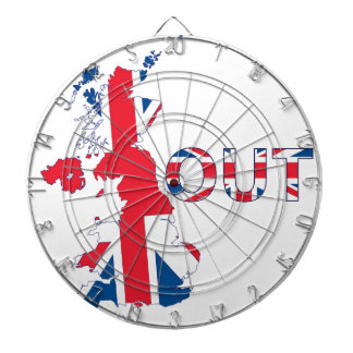 BREXIT OUT UNION JACK DARTBOARD