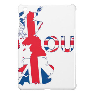 BREXIT OUT UNION JACK iPad MINI CASES