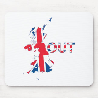 BREXIT OUT UNION JACK MOUSE PAD