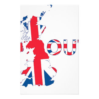 BREXIT OUT UNION JACK STATIONERY