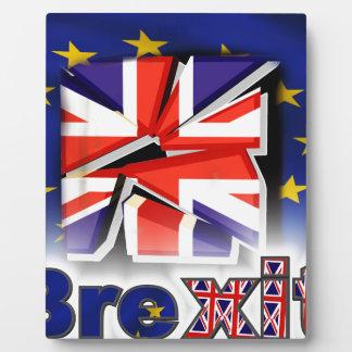 brexit plaque