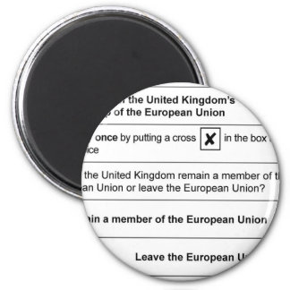 Brexit referendum in UK Magnet