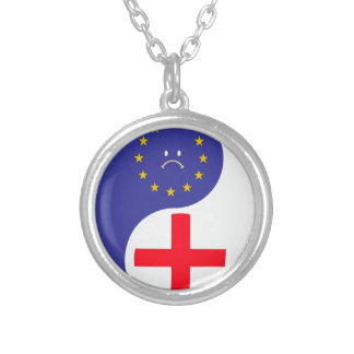 Brexit Silver Plated Necklace