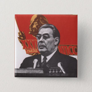 Brezhnev 15 Cm Square Badge
