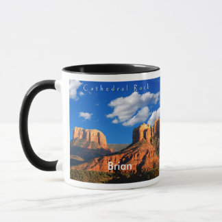 Brian on Cathedral Rock and Courthouse Mug