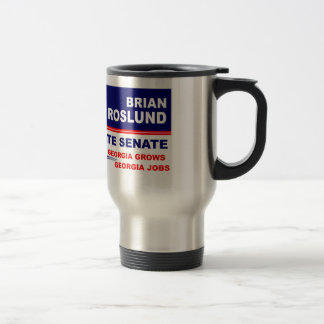 Brian Roslund for Georgia State Senate Travel Mug