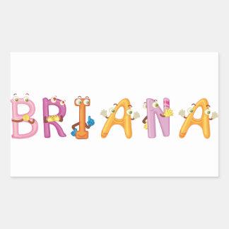 Briana Sticker