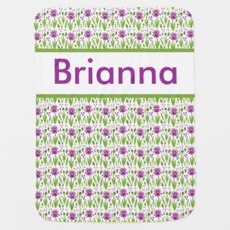 Brianna's Personalized Iris Blanket