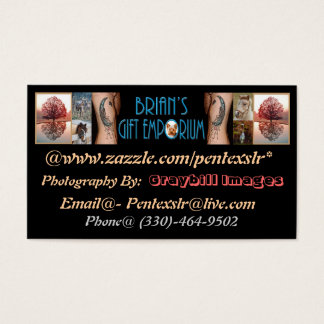 Brian's Gift Emporium Business Card